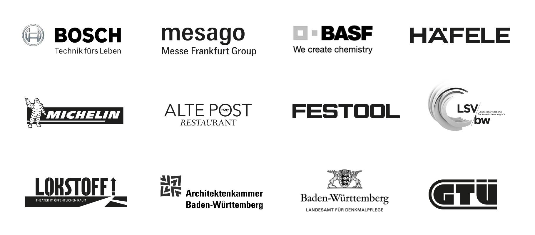 Logos der Kunden von Bruce B.