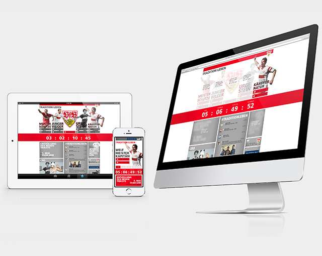 0711 Livecom, VFB Stuttgart - Aktionswebsite