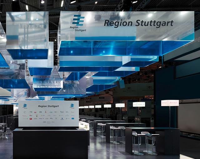 Region Stuttgart - Messestand Expo Real