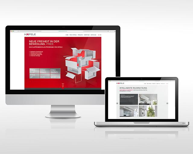Häfele - Einführung Free-Broschüre und Webspecial