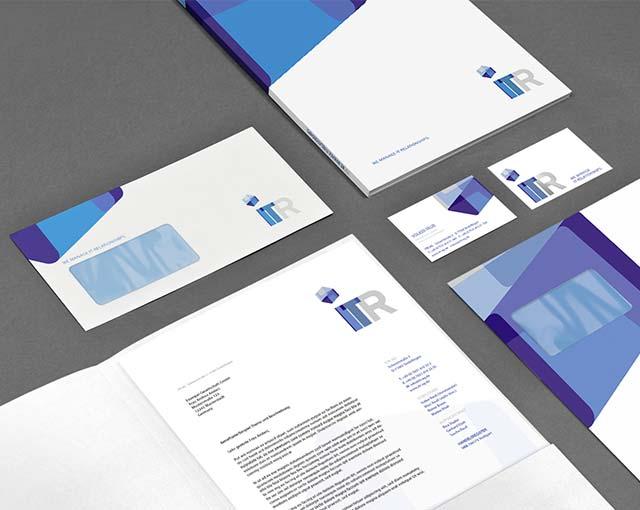 ITR AG - Markenauftritt, CD-Entwicklung und Website