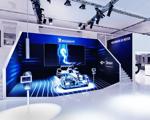 Michelin - Messeauftritt Reifen 2014
