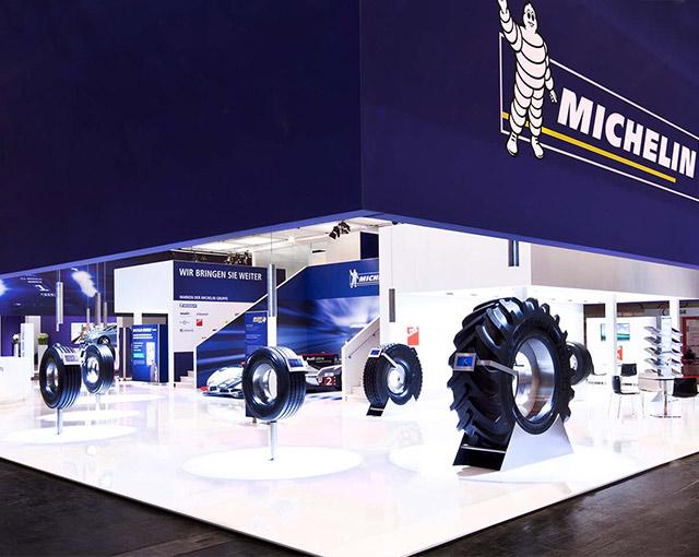 Michelin - Messeauftritt Reifen 2012