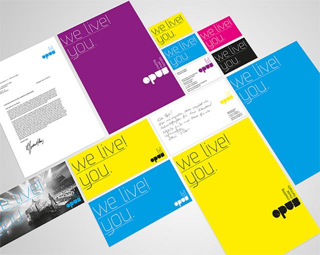 Opus - CD-Entwicklung und Markenauftritt