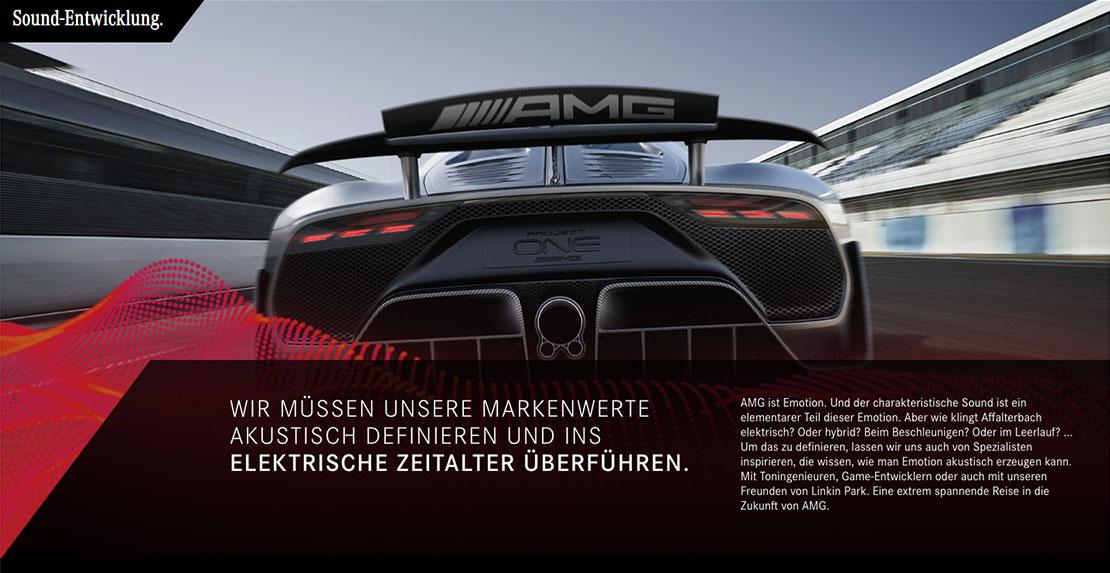 Mercedes-AMG Soundentwicklung