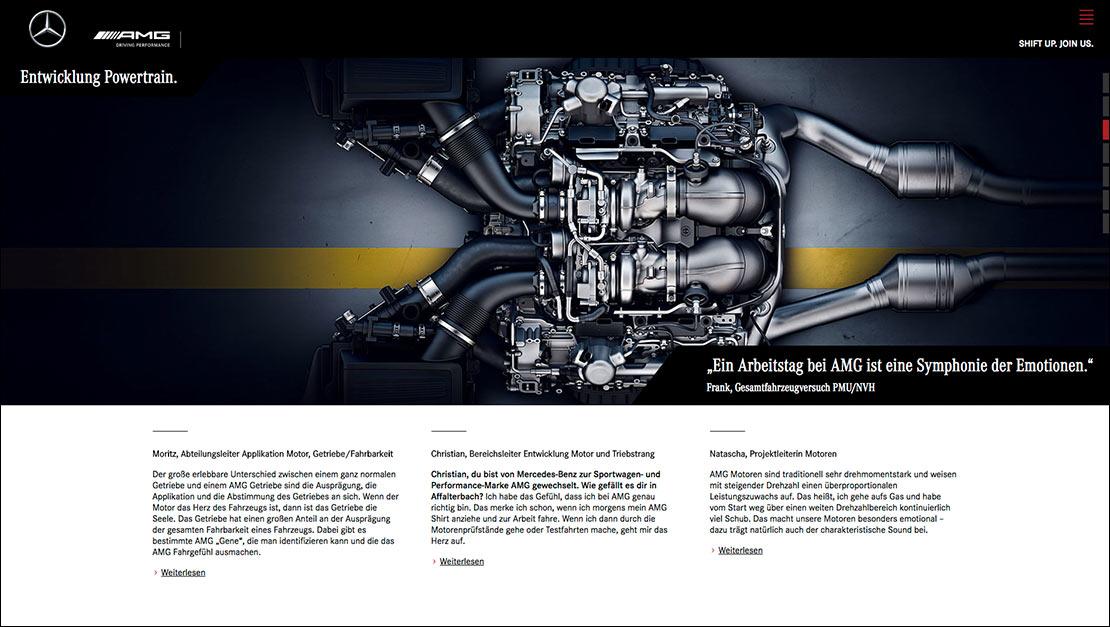 Mercedes-AMG Antriebsstrang