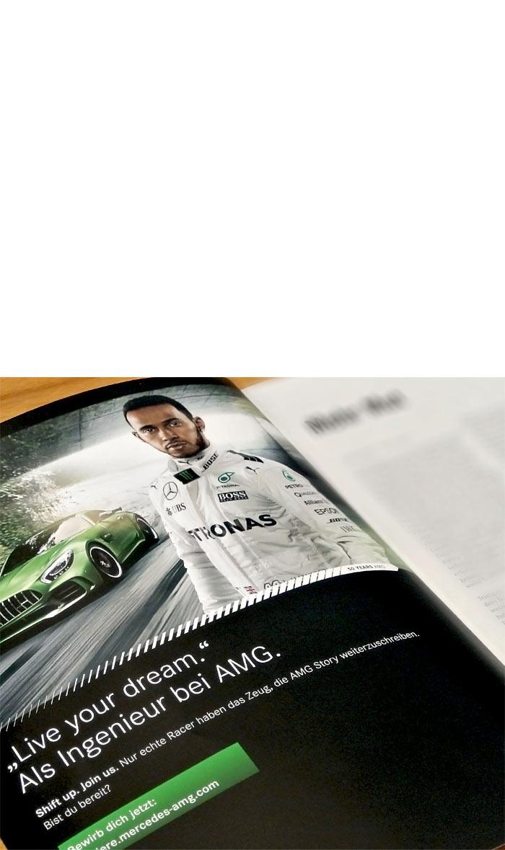 Mercedes-AMG HR Printwerbung