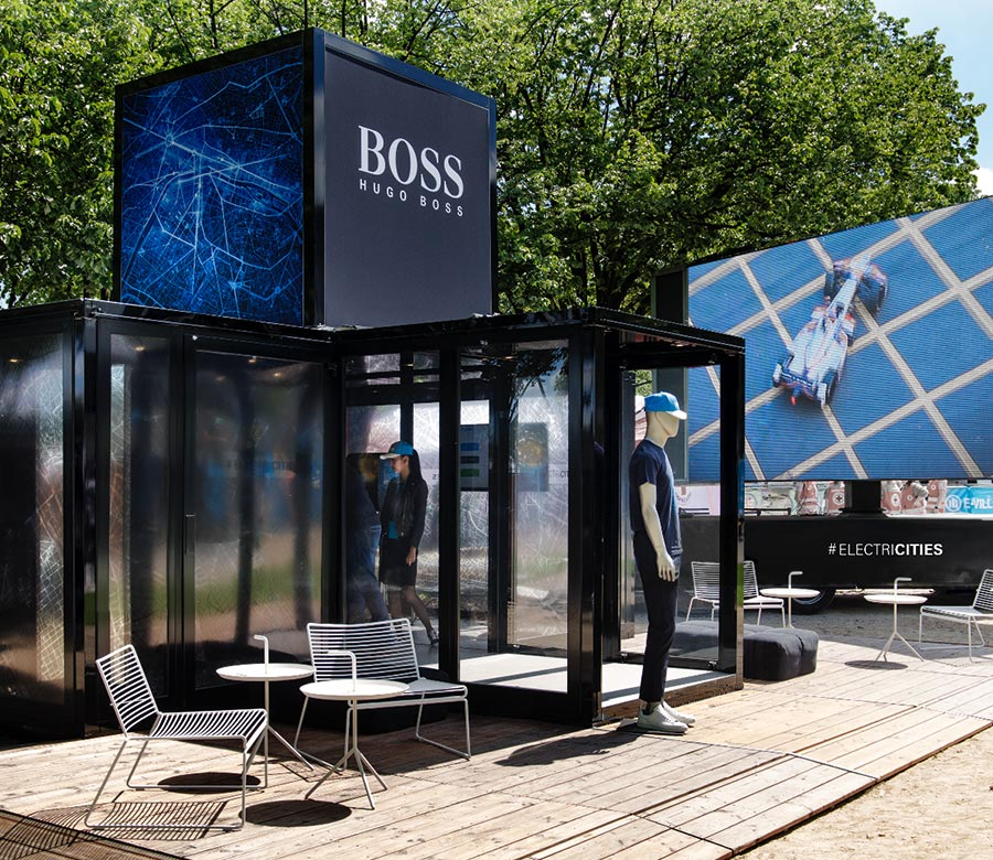 Hugo Boss Pop-Up Store