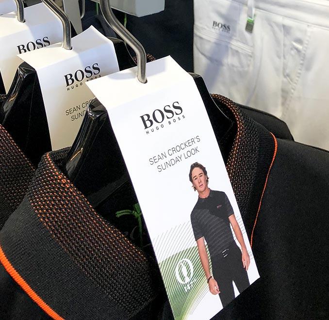 Hugo Boss Kleiderbügelanhänger