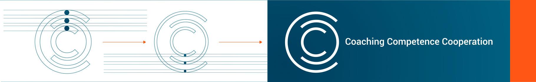 Grafische Entwicklung des neuen Logos