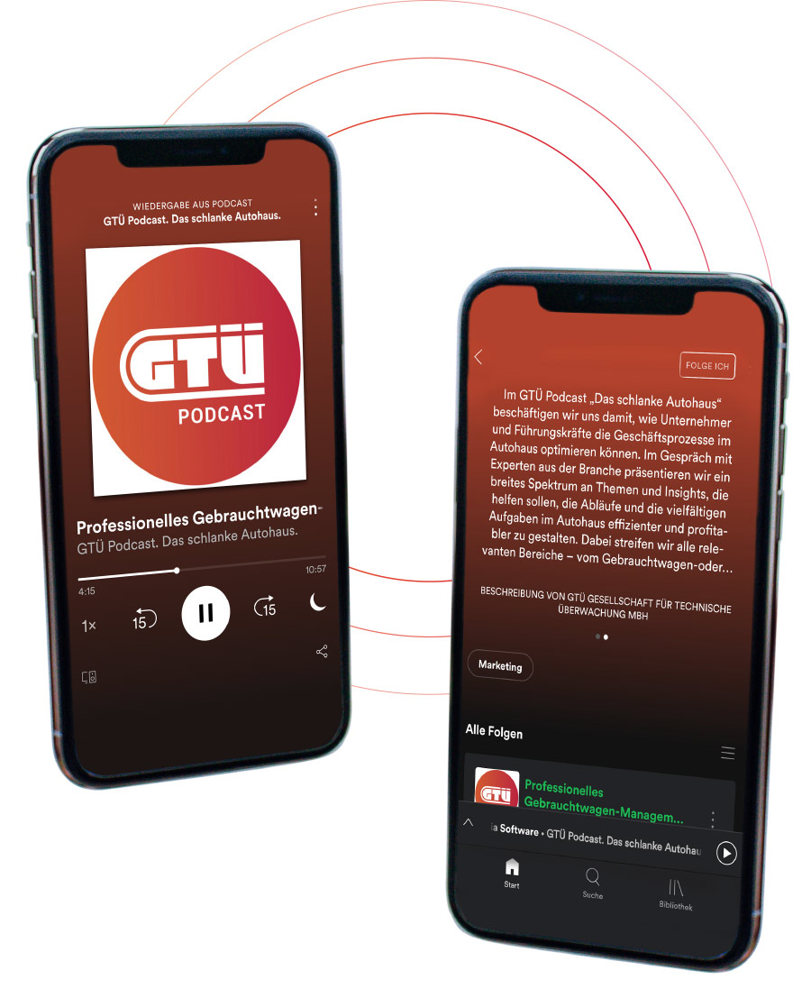 Podcast Layout in Spotify