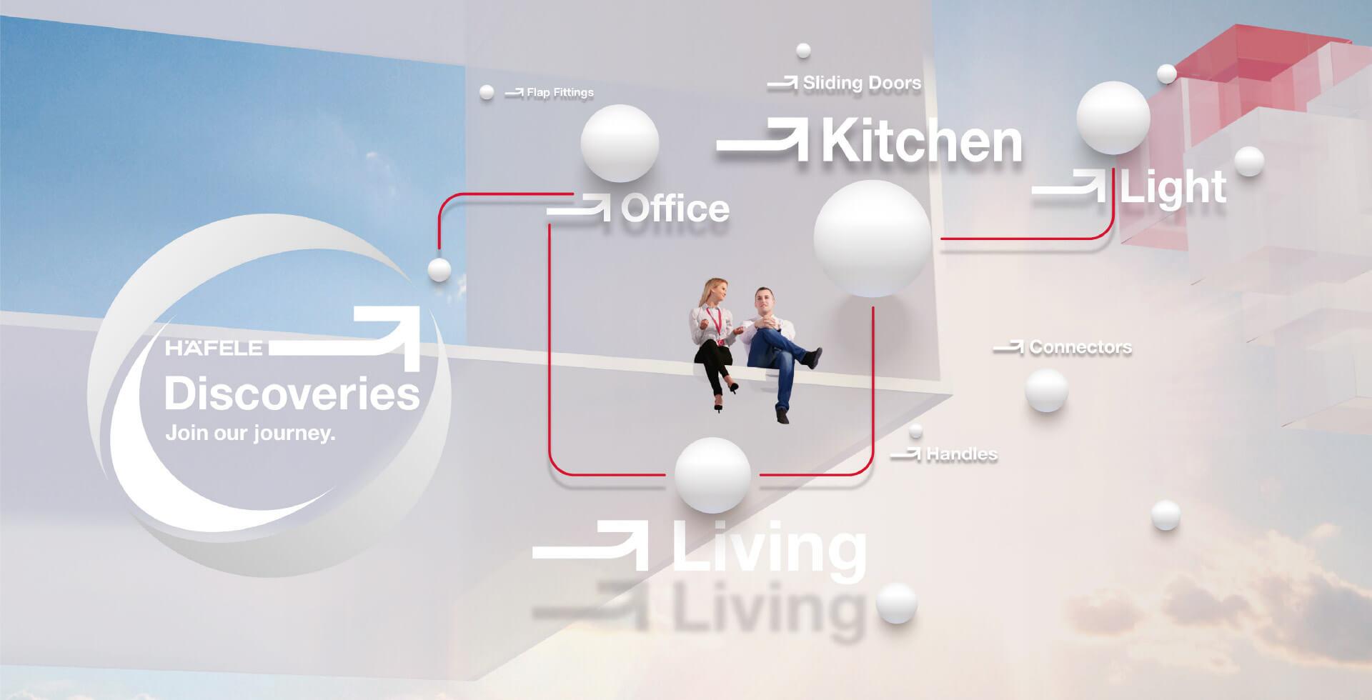 Häfele Discoveries – Virtueller, weltweiter Showroom