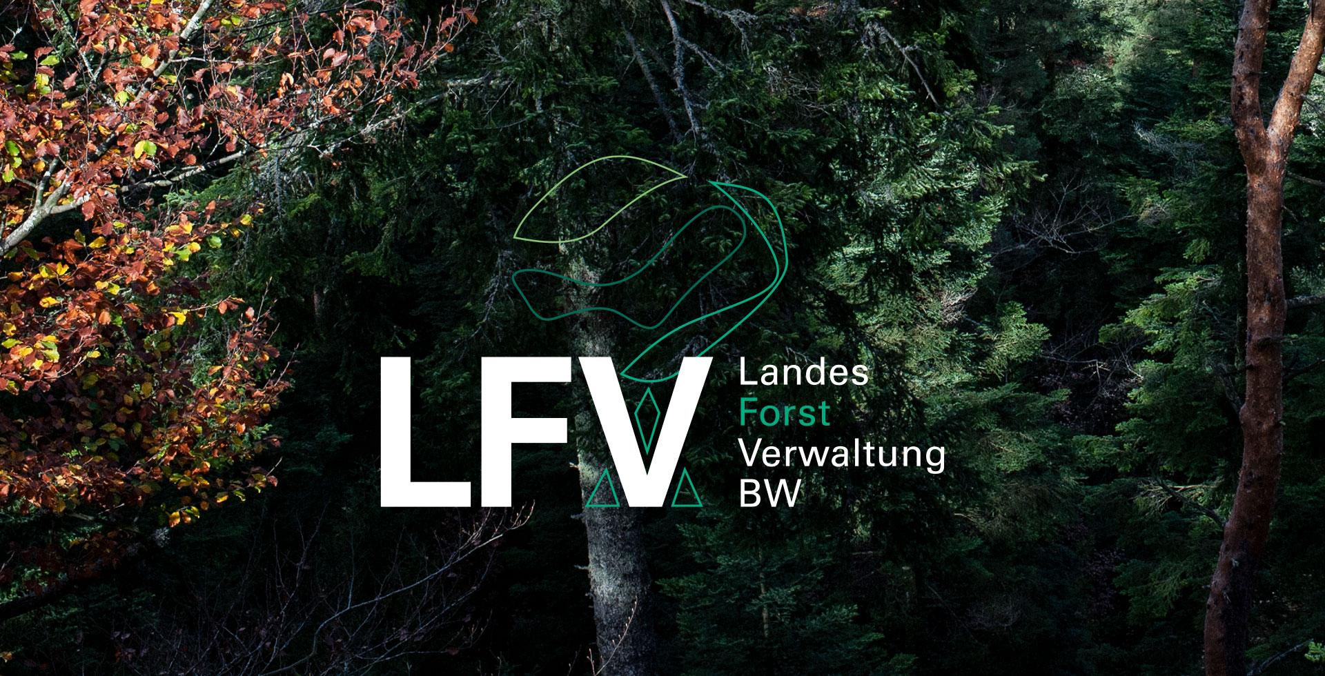 Landesforst Verwaltung BW - Logoentwicklung