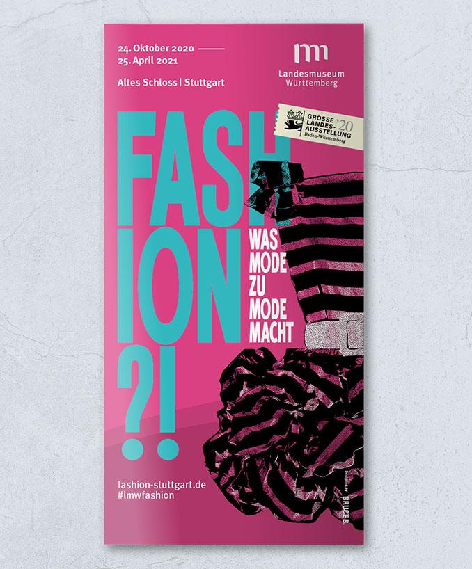 Fashion?!-Flyer von vorne