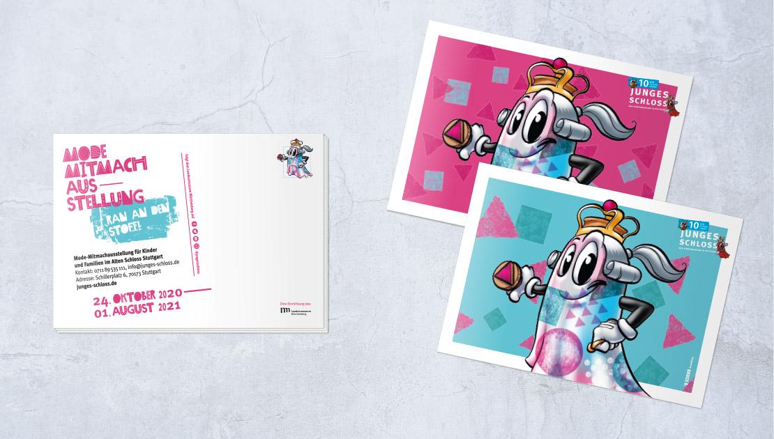 Fashion?!-Postkarten Kindermuseum