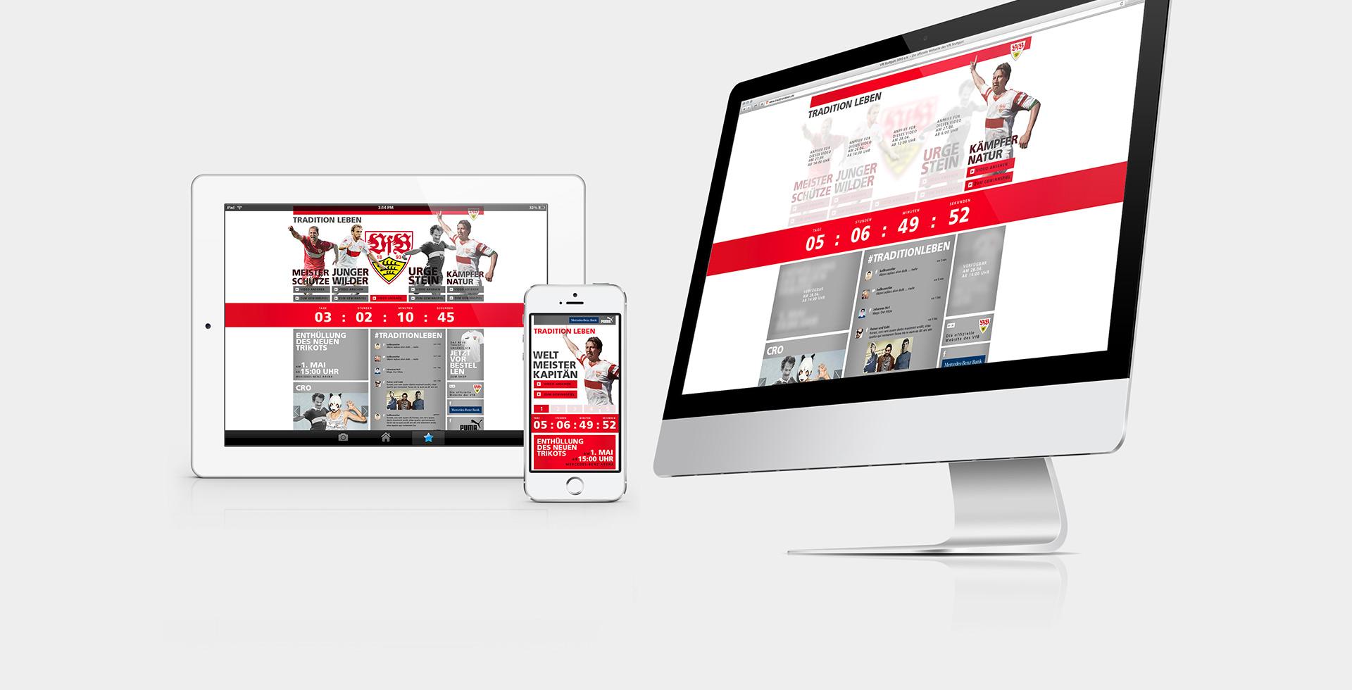 VFB Stuttgart - Aktionswebsite