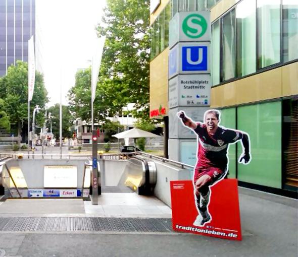 VFB Stuttgart - Social-Media-Aktion