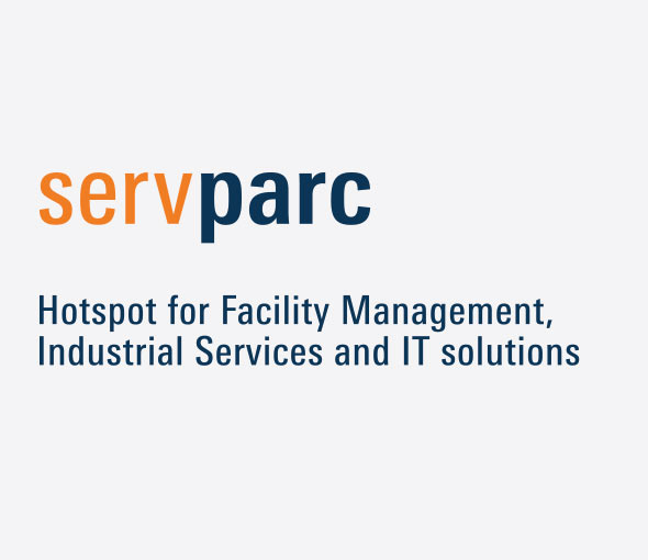 servparc. Die Aufgabe: Naming. Hotspot for Facility Management, Industrial Services and IT solutions.